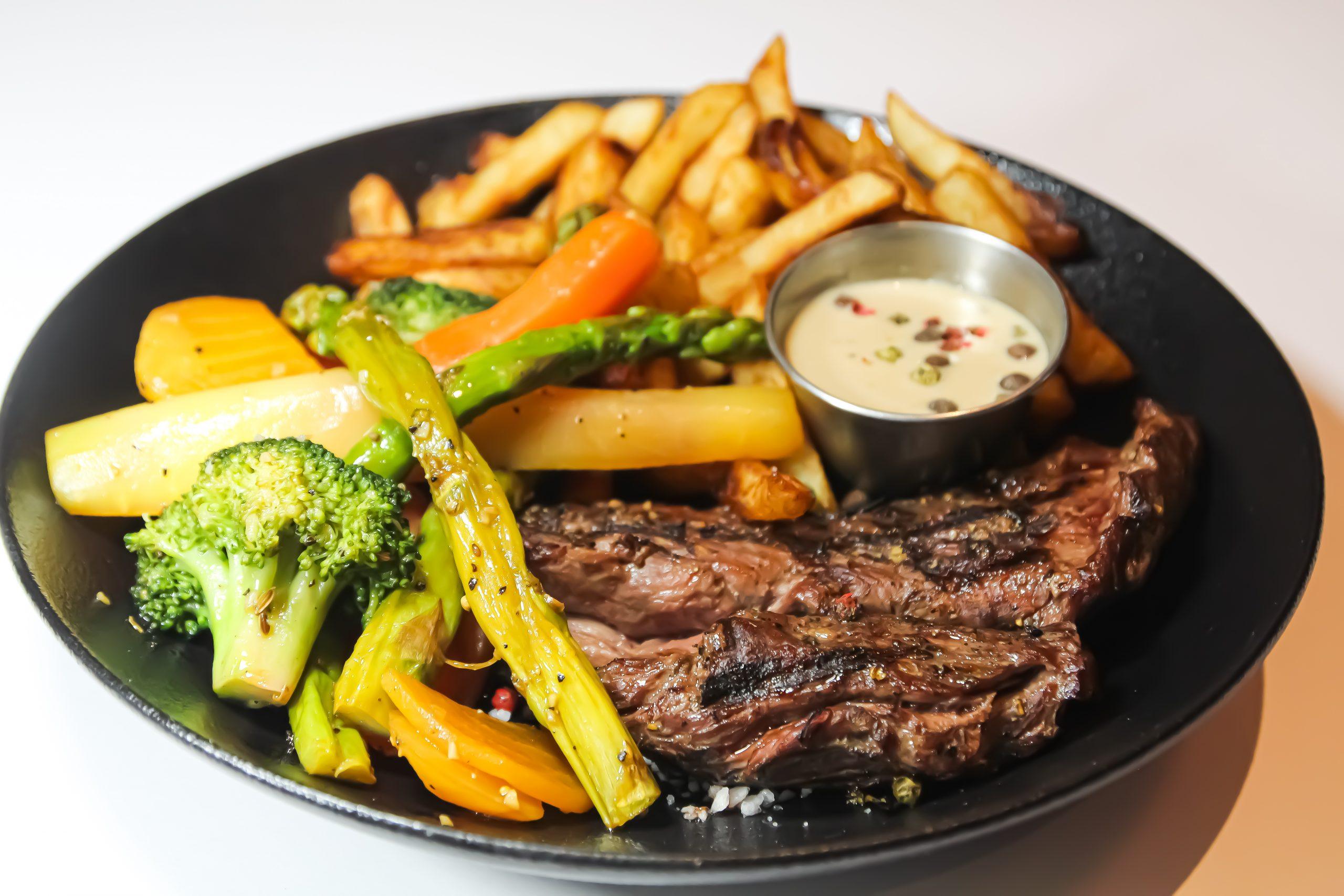 Repas restaurant Safari